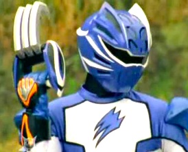 Jungle Master Blue Ranger with Claw Booster