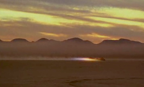 "Turbo Zords racing across ""great desert"""