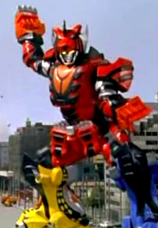 Jungle Pride Megazord