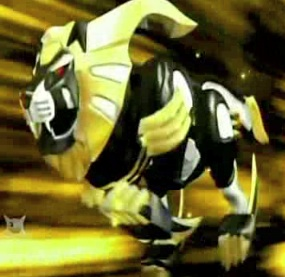 Lion in Zord form