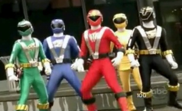 RPM Rangers (not shown: Gold and Silver)