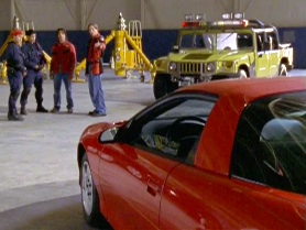 "T.J.'s car in ""Forever Red"""